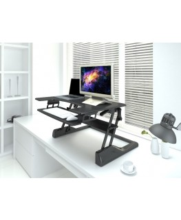 steh sitz arbeitsplatz 10 29 monitor halterung display. Black Bedroom Furniture Sets. Home Design Ideas