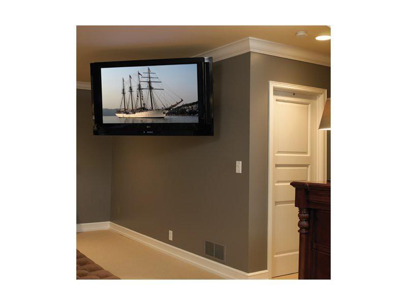 chief pdr ub schwenkbare tv wandhalterung schwarz. Black Bedroom Furniture Sets. Home Design Ideas