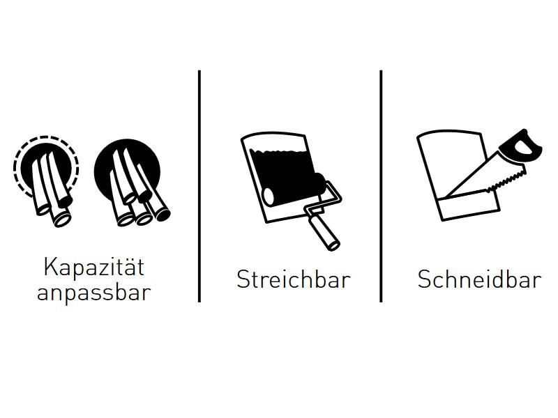 Berühmt Kabelabdeckungen Für Tv An Der Wand Galerie - Der ...