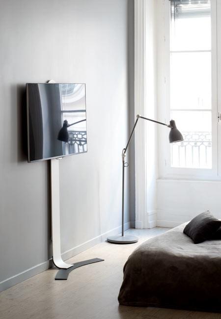 erard standit 600 bohrlose flache tv wandhalterung. Black Bedroom Furniture Sets. Home Design Ideas