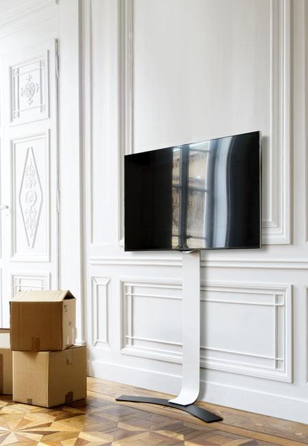 erard standit 400 bohrlose flache tv wandhalterung. Black Bedroom Furniture Sets. Home Design Ideas