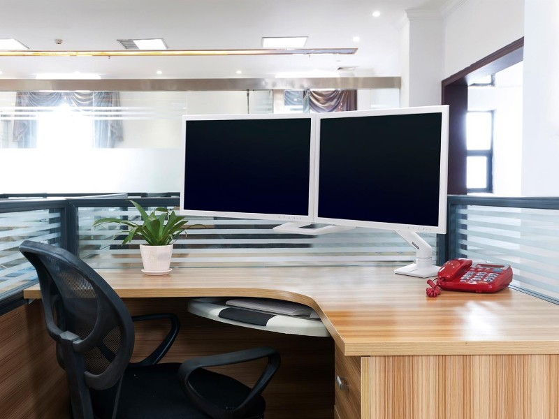 Ergotron Monitor Tischhalterung Dual Hx Arm 45 476 216