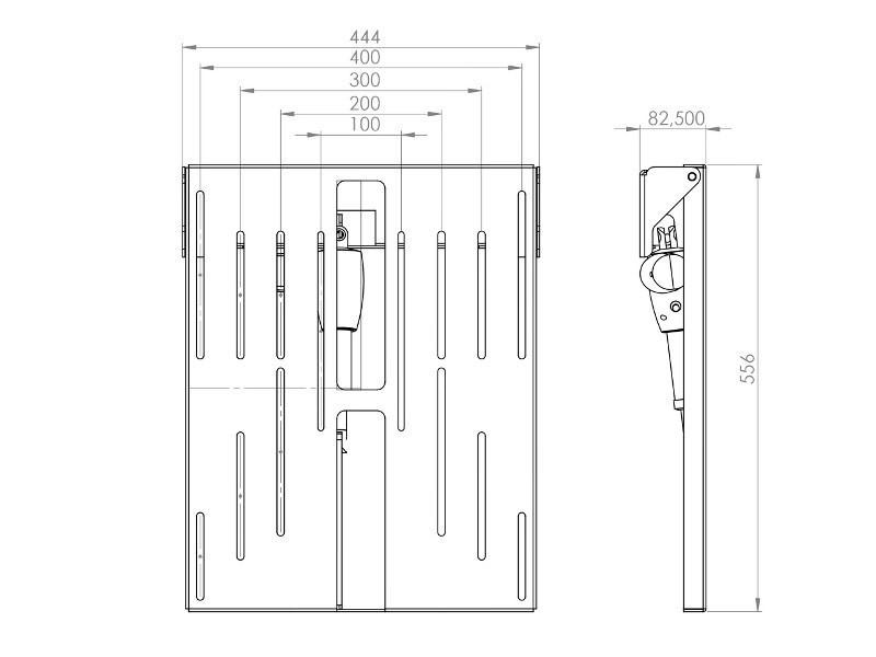 elektrische TV Deckenhalterung, MonLines mMotion Flip, MDH001W