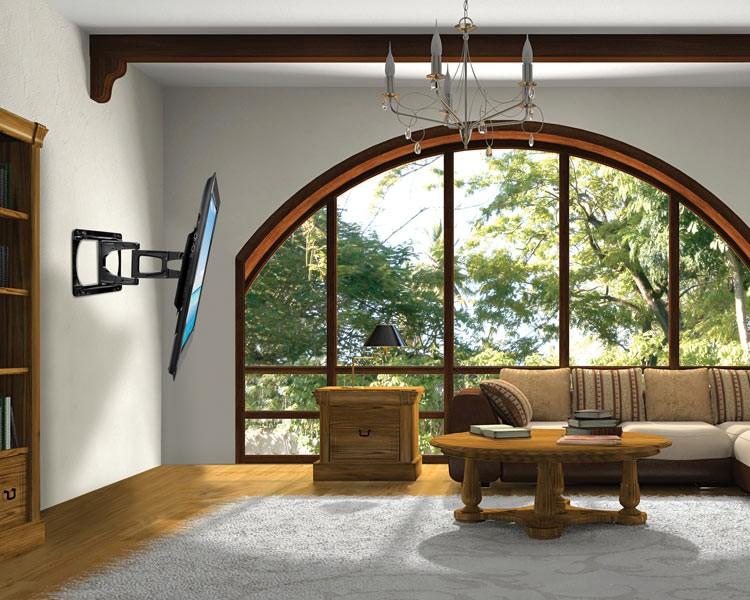 peerless slws350 tv wandhalterung mit ultraflachen. Black Bedroom Furniture Sets. Home Design Ideas