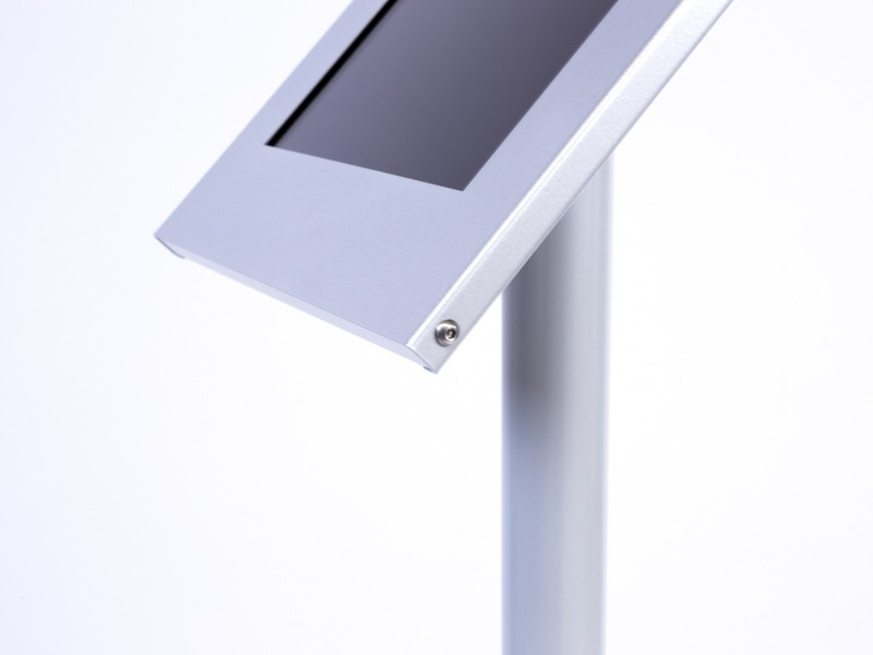Tablines tbs003s tablet boden standfu silber for Boden windlicht silber