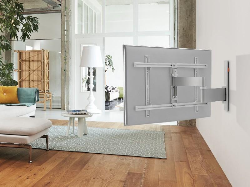 vogel 39 s wall 3245 tv wandhalterung schwenkbar 32 55zoll wei. Black Bedroom Furniture Sets. Home Design Ideas