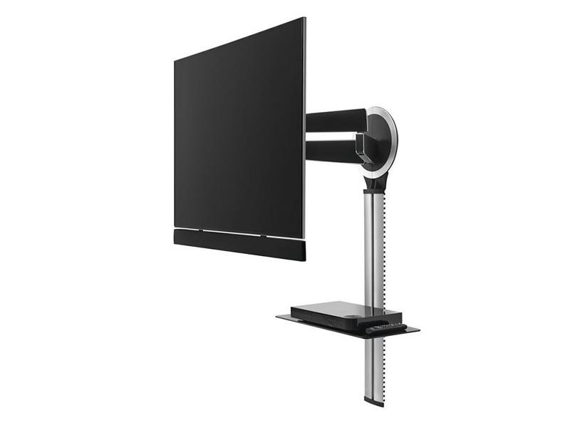 vogels designmount next kabelkanal mit av ablage und soundbar. Black Bedroom Furniture Sets. Home Design Ideas