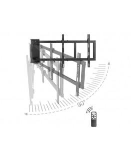 vogels next 7355 elektrische tv wandhalterung 65zoll. Black Bedroom Furniture Sets. Home Design Ideas