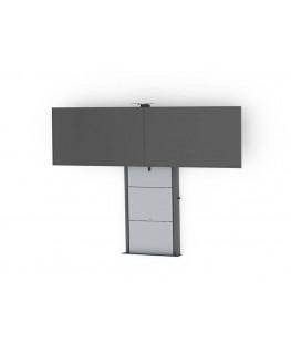 tv wandhalterung h henverstellbare 65zoll fernseher. Black Bedroom Furniture Sets. Home Design Ideas