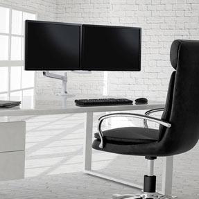 ergotron halterung monitor wandhalterung tablet visitenwagen. Black Bedroom Furniture Sets. Home Design Ideas