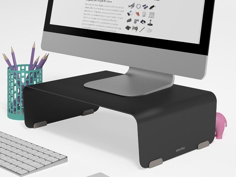 dataflex bento monitor erh hung schwarz. Black Bedroom Furniture Sets. Home Design Ideas