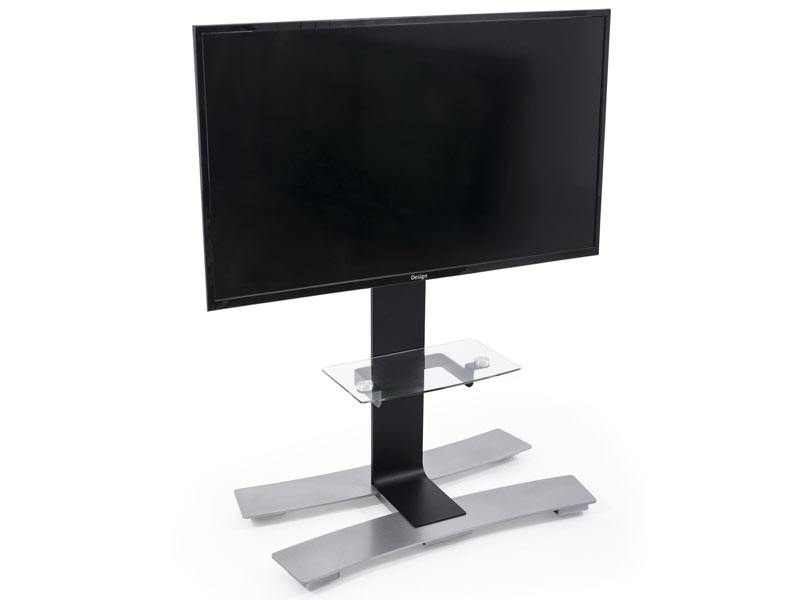 erard will 1050l mobiler tv standfu mit ablage schwarz. Black Bedroom Furniture Sets. Home Design Ideas