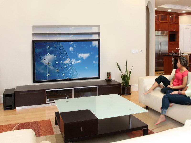ergotron glide vhd h henverstellbare tv wandhalterung 61 128 085. Black Bedroom Furniture Sets. Home Design Ideas