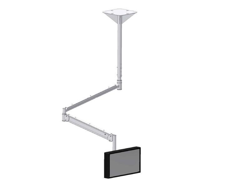 edbak msa01c b praxis monitor decken schwenkarm. Black Bedroom Furniture Sets. Home Design Ideas