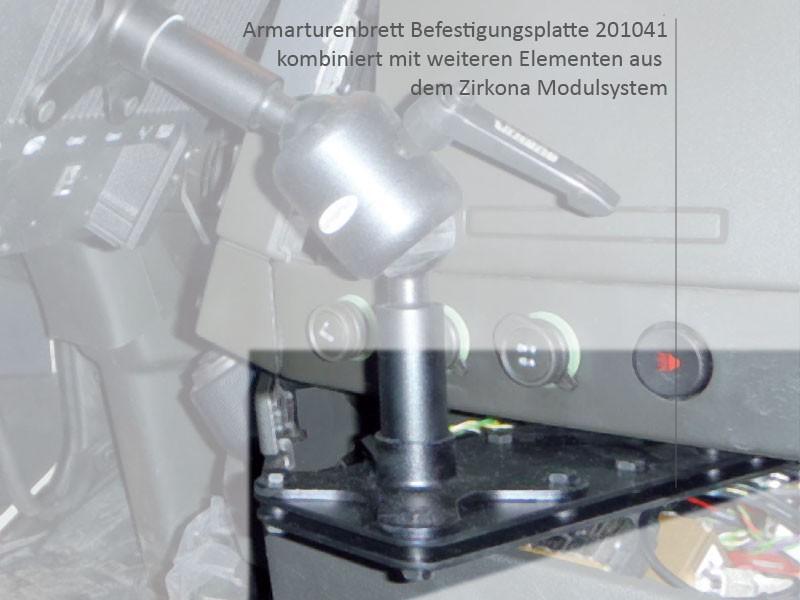 Zirkona Basis Halterung 201041 F 252 R Armaturenbrett