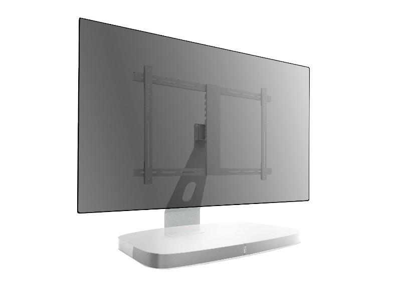 Cavus Tv Ständer Mit Sonos Playbase Halterung Weiß