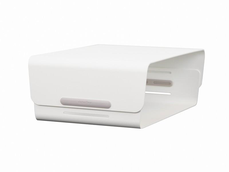 Dataflex Bento Monitor Erhöhung Bildschirm Verstellbar Weiß 45120