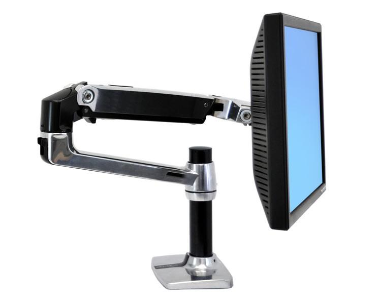 Ergotron Lx Monitorarm Mit Tastaturhalterung Als
