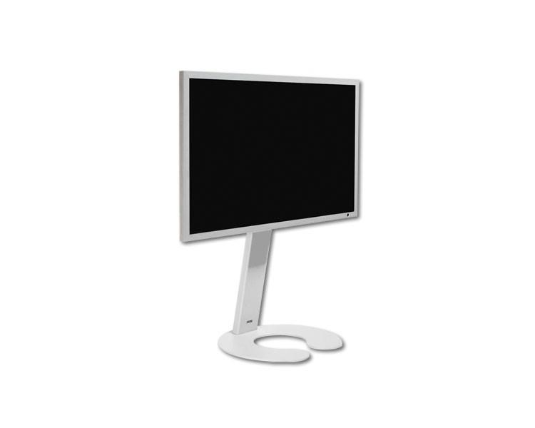 Wissmann Tv Standfuß Omega Art111 R 1w Weiß Bis 55zoll Fernseher