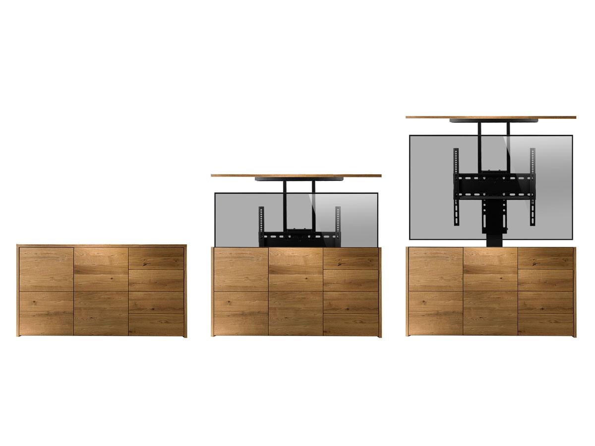 Einbau Tv Lift Elektrisch 640 Mm Hub Monlines Mbs005b