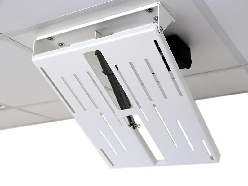 MonLines mMotion Flip elektrische TV Deckenhalterung, weiß