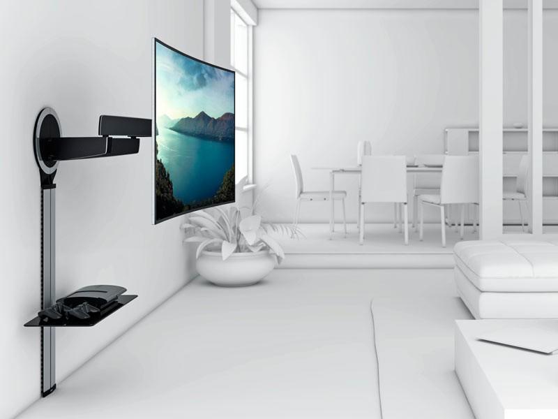 Vogels Next 7345 Tv Wandhalterung Schwenkbar Designmount