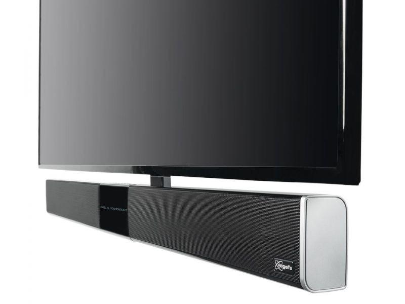 elektrisch schwenkbare TV Wandhalterung Soundbar Vogels