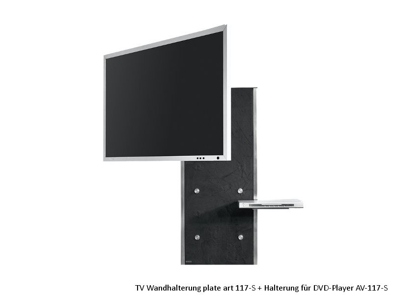 wissmann halterung dvd player halterung plate art 117 s av. Black Bedroom Furniture Sets. Home Design Ideas