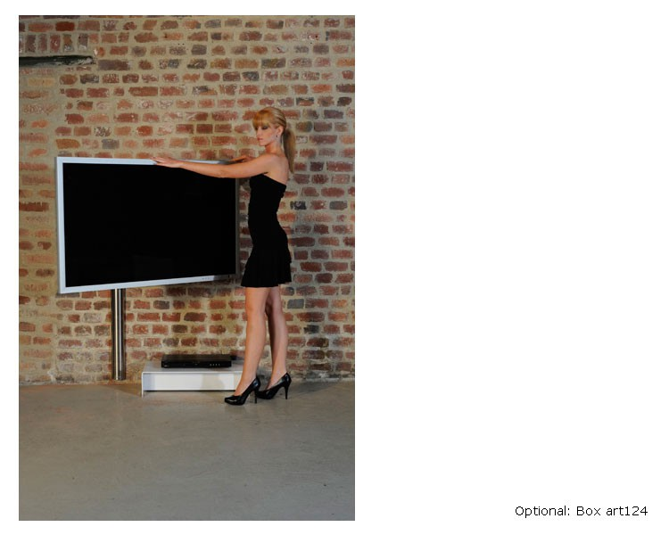 wissmann tv wandhalterung solution art123 2 52 60zoll. Black Bedroom Furniture Sets. Home Design Ideas